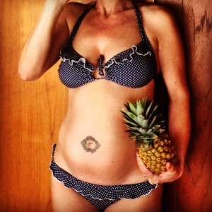 20 weeks, and pineapple